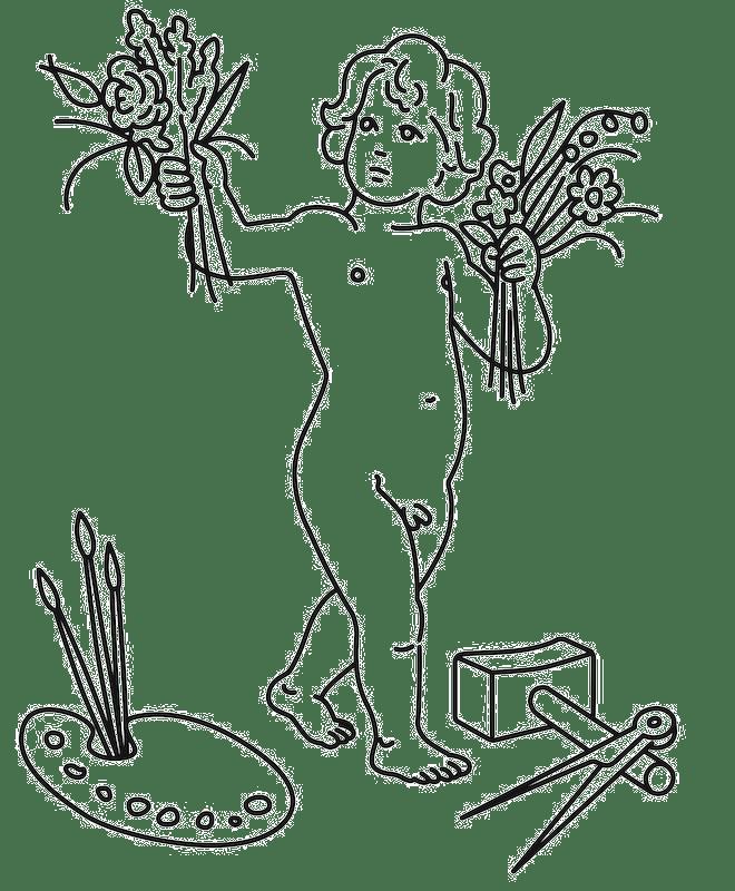 Forårsudstillingen Logo